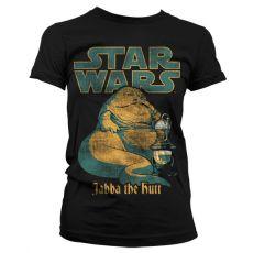 Dámské tričko s potiskem Star Wars Jabba The Hutt