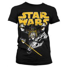 Dámské tričko s potiskem Star Wars Vader Intimidation