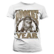 Dámské tričko s potiskem Star Wars Wookiee Of The Year