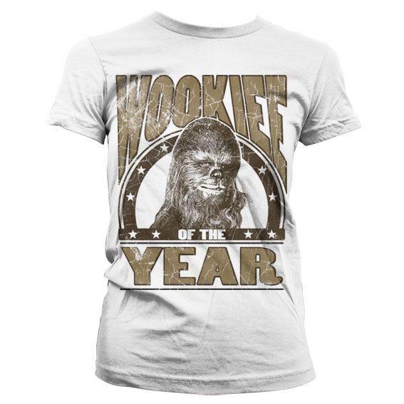Star Wars stylové dámské tričko s potiskem Wookiee Of The Year
