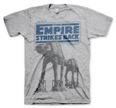 Tričko s potiskem Star Wars Empire Strikes Back AT-AT