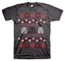 Tričko s potiskem Star Wars Imperials X-Mas Knit