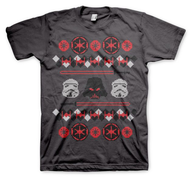 Star Wars stylové pánské tričko s potiskem Imperials X-Mas Knit