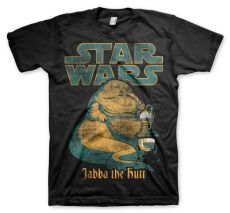 Tričko s potiskem Star Wars Jabba The Hutt