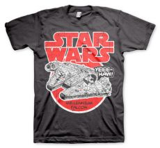 Tričko s potiskem Star Wars Millennium Falcon