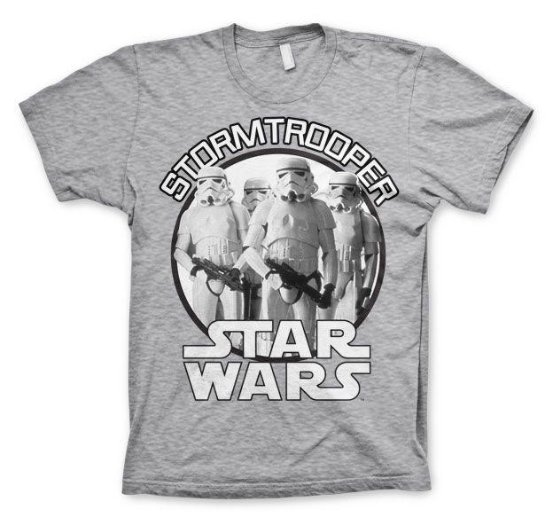 Star Wars stylové pánské tričko s potiskem Stormtrooper