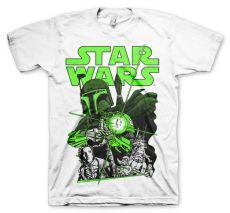 Tričko s potiskem Star Wars Vintage Boba Fett