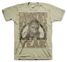 Tričko s potiskem Star Wars Wookiee Of The Year