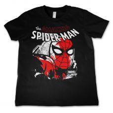 Dětské tričko s potiskem Spider-Man Close Up