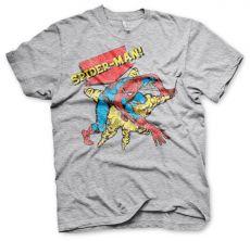 Pánské tričko s potiskem Retro Spider-Man