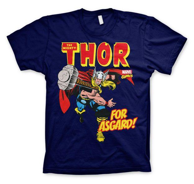 Stylové tričko Marvel , pánské triko s potiskem The Mighty Thor For Asgard!