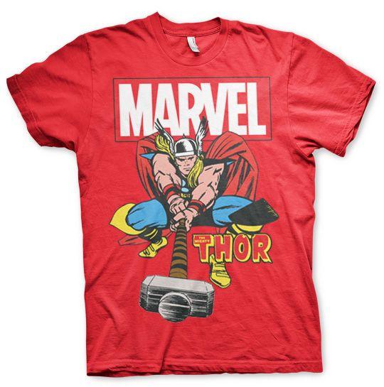 Stylové tričko Marvel , pánské triko s potiskem The Mighty Thor
