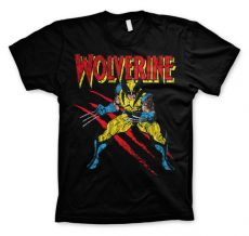 Pánské tričko s potiskem Wolverine Scratches