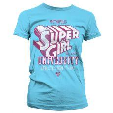 Dámské tričko Supergirl Athletics Dept.
