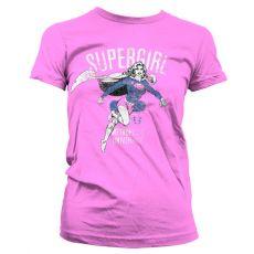 Dámské tričko Supergirl Metropolis Distressed