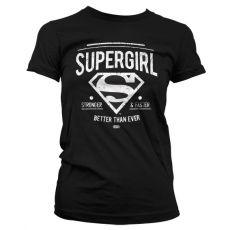 Dámské tričko Supergirl Strong & Faster