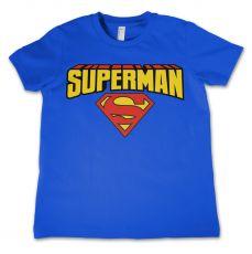 Dětské tričko Superman Blockletter Logo