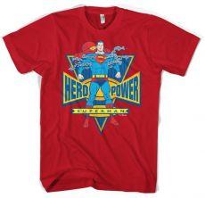 Modré pánské tričko Superman World Hero