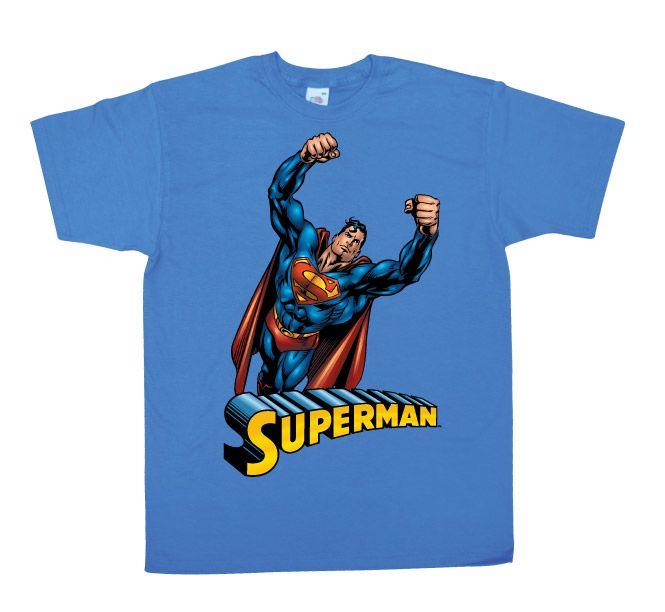 Superman pánské tričko s potiskem Flying