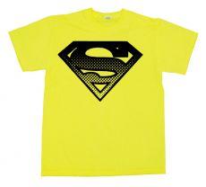 Pánské tričko Superman Halftone Shield
