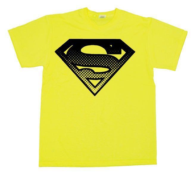 Superman pánské tričko s potiskem Halftone Shield
