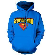 Mikina s Kapucí Superman Logo