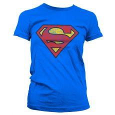 Dámské tričko Superman Washed Shield