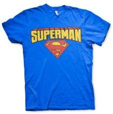 Pánské tričko s potiskem Superman Blockletter Logo