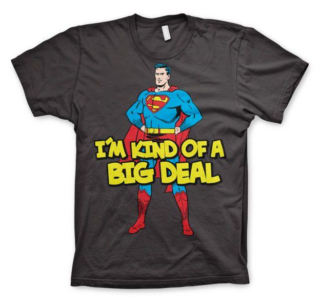 Superman stylové pánské tričko I´m Kind Of A Big Deal