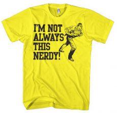 Pánské tričko s potiskem Superman I´m Not Always This Nerdy