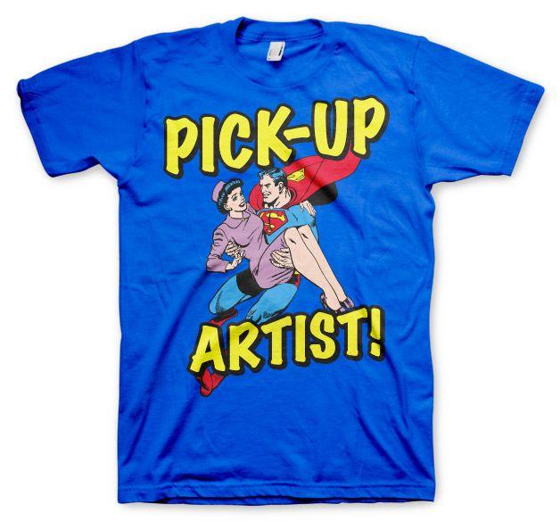 Superman stylové pánské tričko Pick-Up Artist