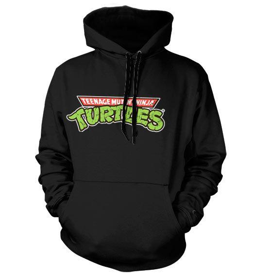 Teenage Mutant Ninja Turtles hoodie mikina s kapucí a potiskem Classic Logo