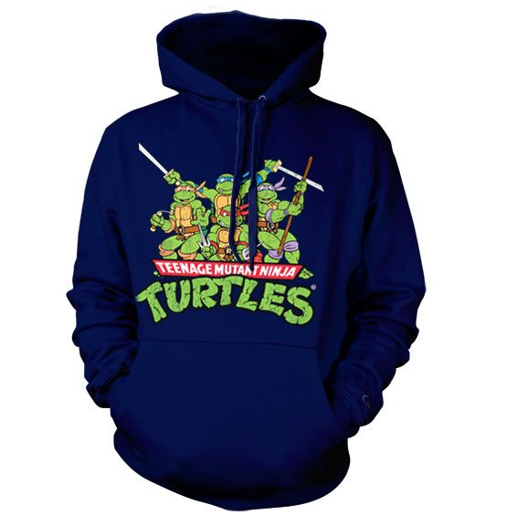Teenage Mutant Ninja Turtles hoodie mikina s kapucí a potiskem Distressed Group