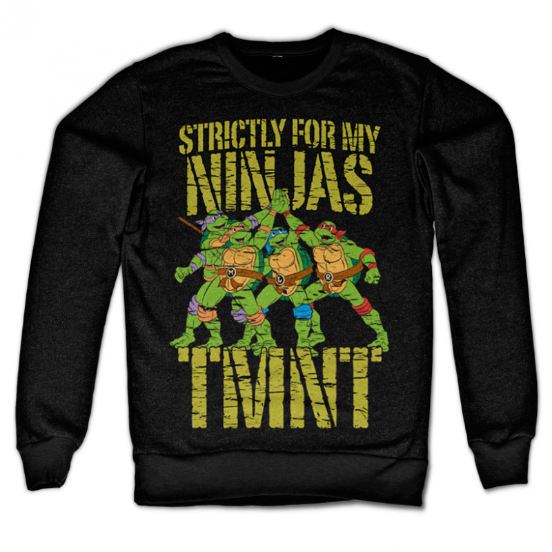 Teenage Mutant Ninja Turtles mikina s potiskem Strictly For My Ninjas