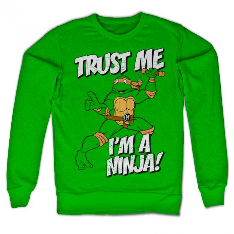 Teenage Mutant Ninja Turtles mikina s potiskem Trust Me, I´m A Ninja