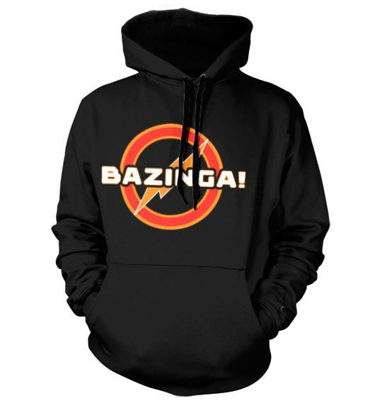 The Big Bang Theory hoodie mikina s kapucí a potiskem Bazinga Underground Logo