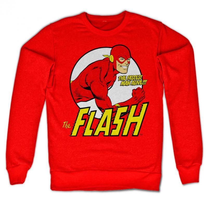 The Flash mikina s potiskem Fastest Man Alive