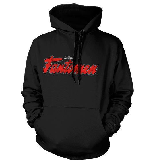 The Phantom stylová hoodie mikina s kapucí a potiskem Distressed Logo