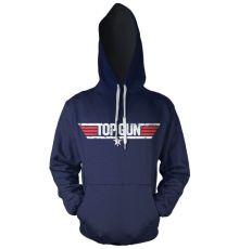 Top Gun mikina s kapucí Logo