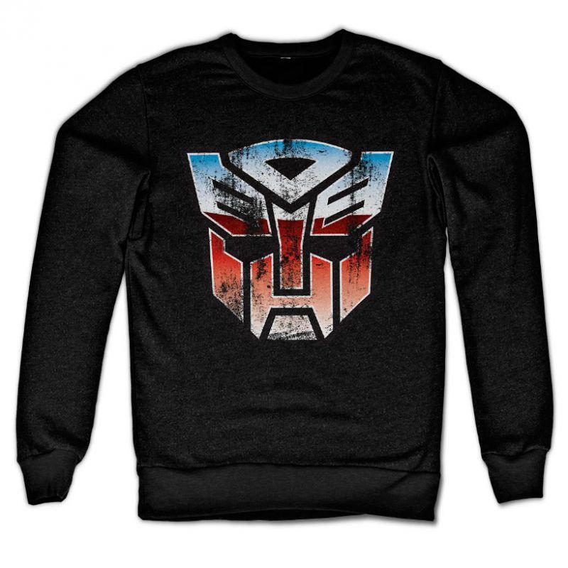 Transformers stylová mikina s potiskem Distressed Autobot Shield
