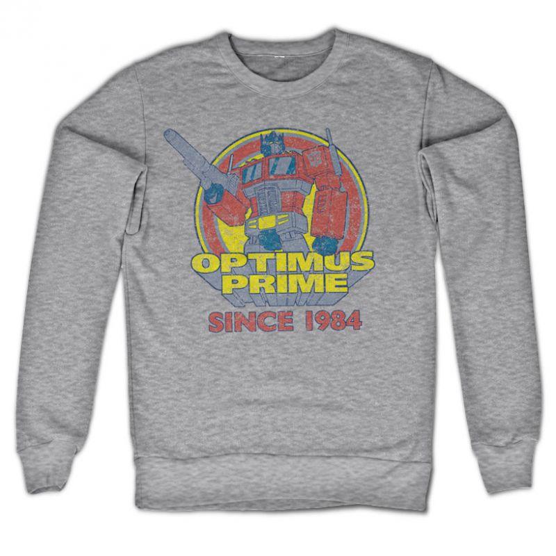 Transformers stylová mikina s potiskem Optimus Prime Since 1984