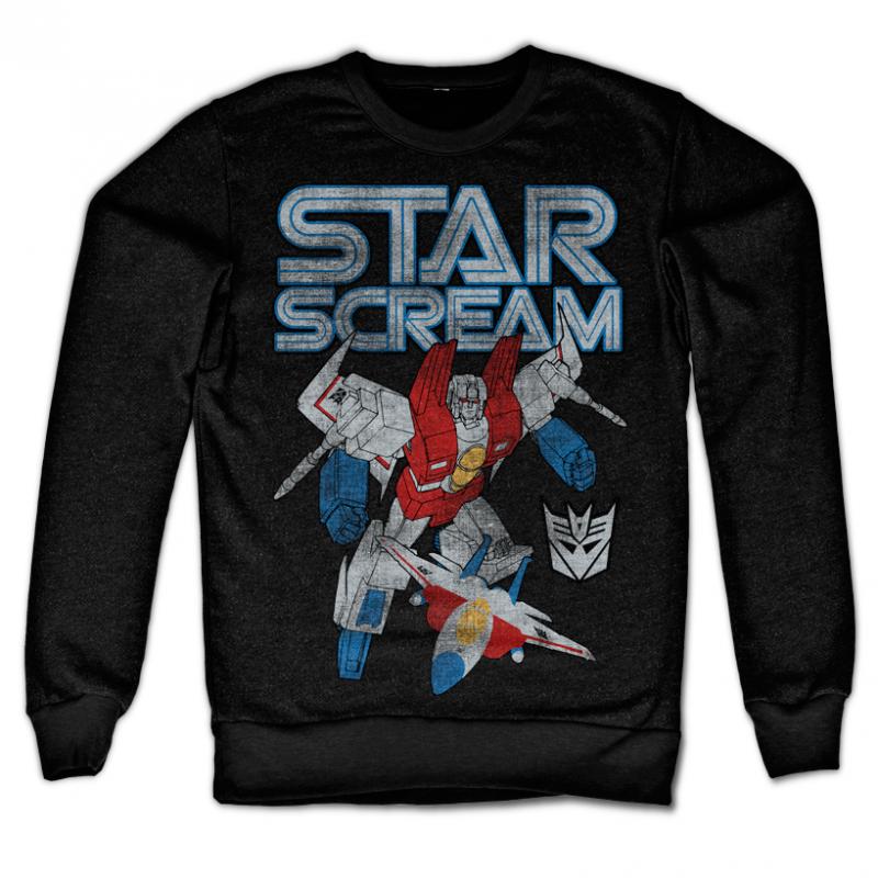 Transformers stylová mikina s potiskem Starscream Distressed