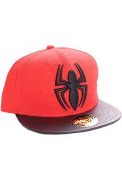 Spider-Man Nastavitelná Kšiltovka Black Spider Cotton Division