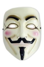 V for Vendetta Replika Guy Fawkes Mask