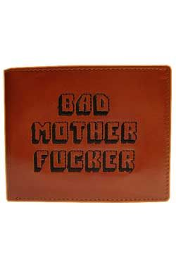 Bad Mother Fucker Peněženka Brown / embroidered Logo