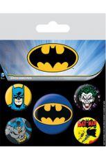 Batman Připínaček Placky 5-Pack