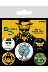 Breaking Bad Pin Placky 5-Pack Los Pollos Hermanos