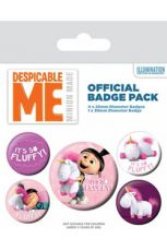 Despicable Me Pin Placky 5-Pack It's So Fluffy