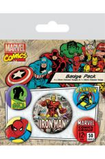 Marvel Comics Pin Placky 5-Pack Iron Man