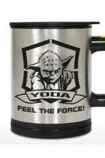 Star Wars Self Stirring Thermo Hrnek Yoda